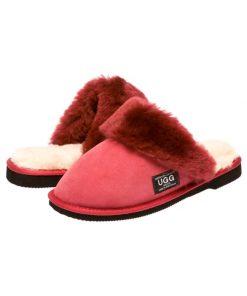 Fur Trim Scuffs & Slides Australian Made sale