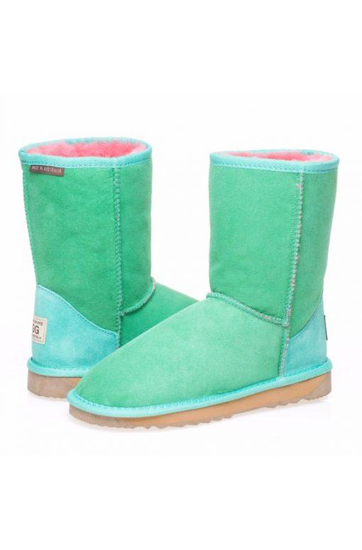 2 Tone Classic Short Ugg Boots 2 tone ugg boots watermellon