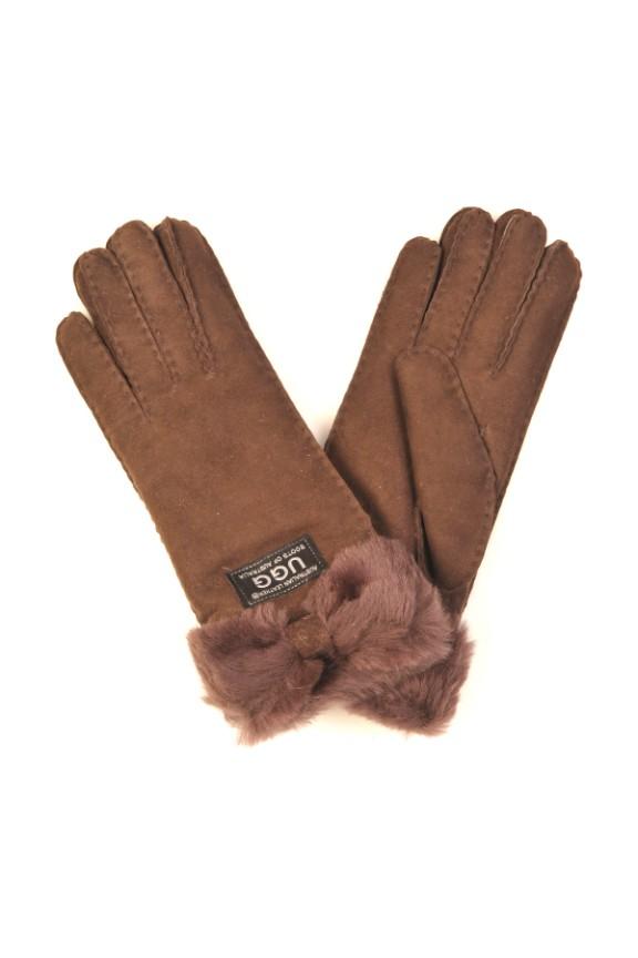 6930c4983d3cd2 Sheepskin Bow gloves