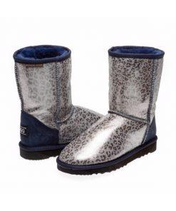 Leopard print Shimmer Ugg Boots fashio napa Ugg Boots Australian Made