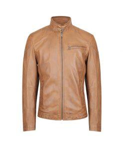 Sheriff Leather Jacket Sale Oiled leather genuine leather Jackets