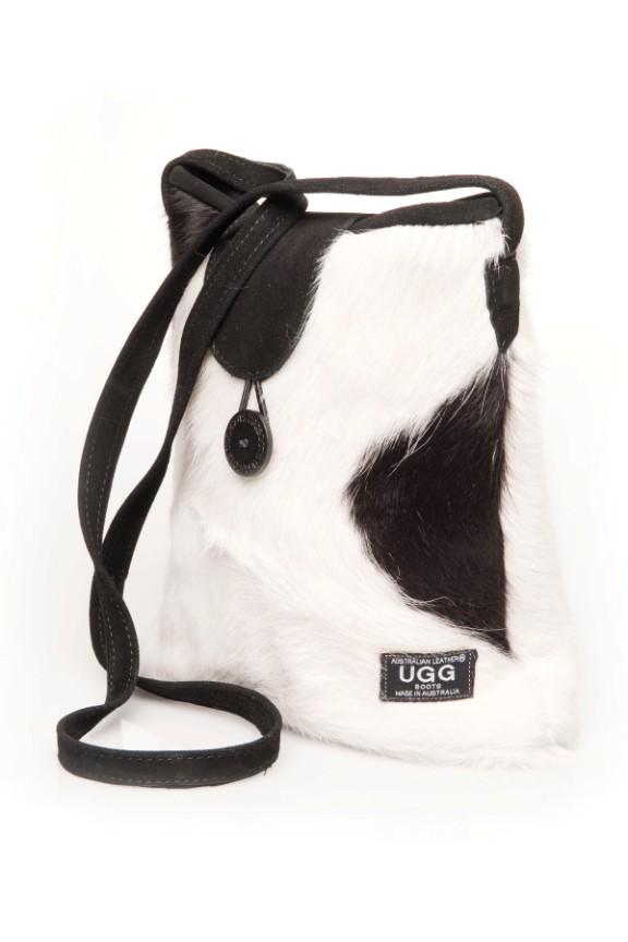 Black Amp White Cowhide Print Ugg Bag Australian Leather